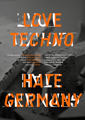 love techno hate germany hamburg