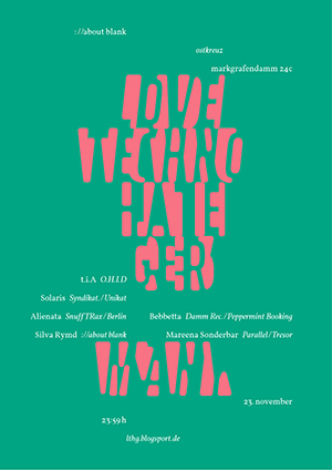 23.11.2012: love techno - hate germany #25
