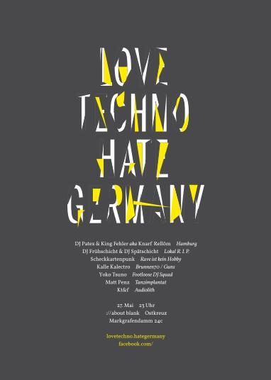 love techno - hate germany mai 2011